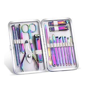 18 Piece Manicure Kit With Cuticle Oil